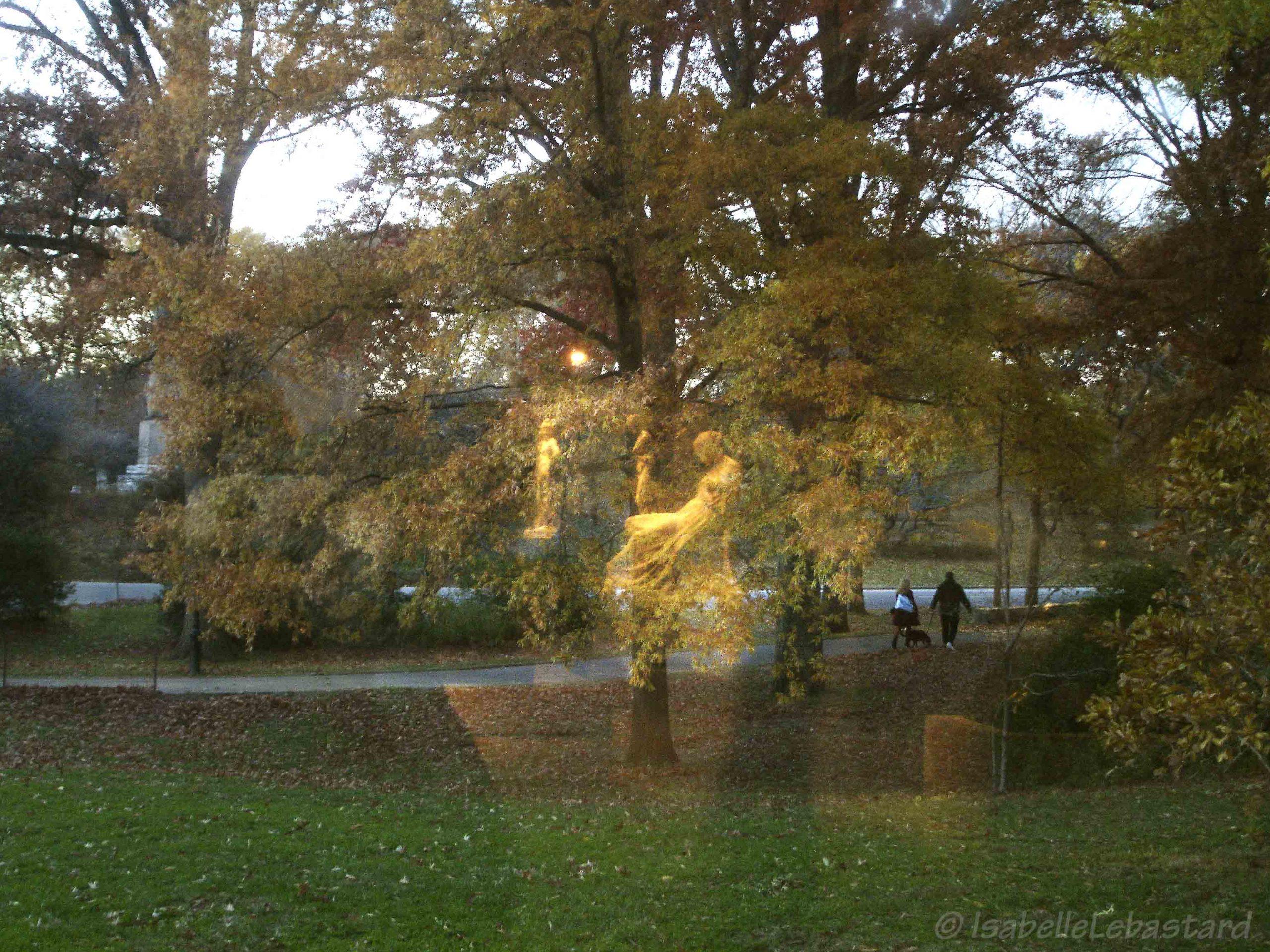 Fantômes dans le parc