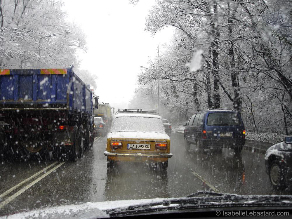 Quotidien sous la neige