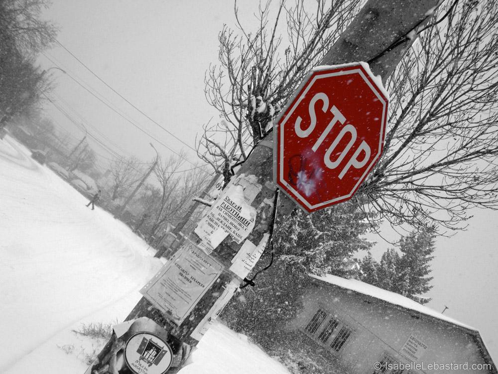 Stop à Siméonovo
